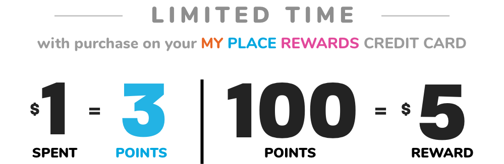 DOUBLE REWARDS | LIMITED TIME