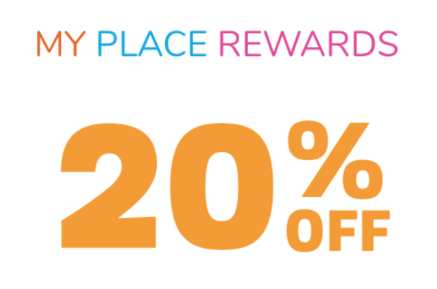 My Place Reward 20% OFF