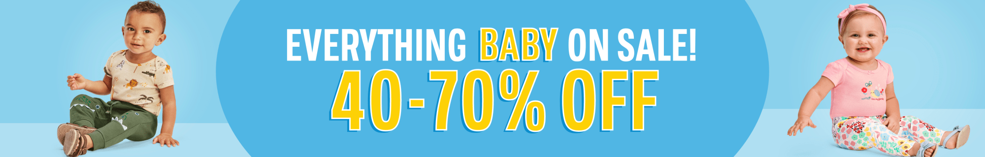 Everything Baby 40-70% Off!