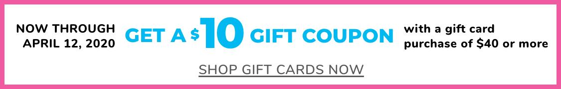 Homepage Gift Card