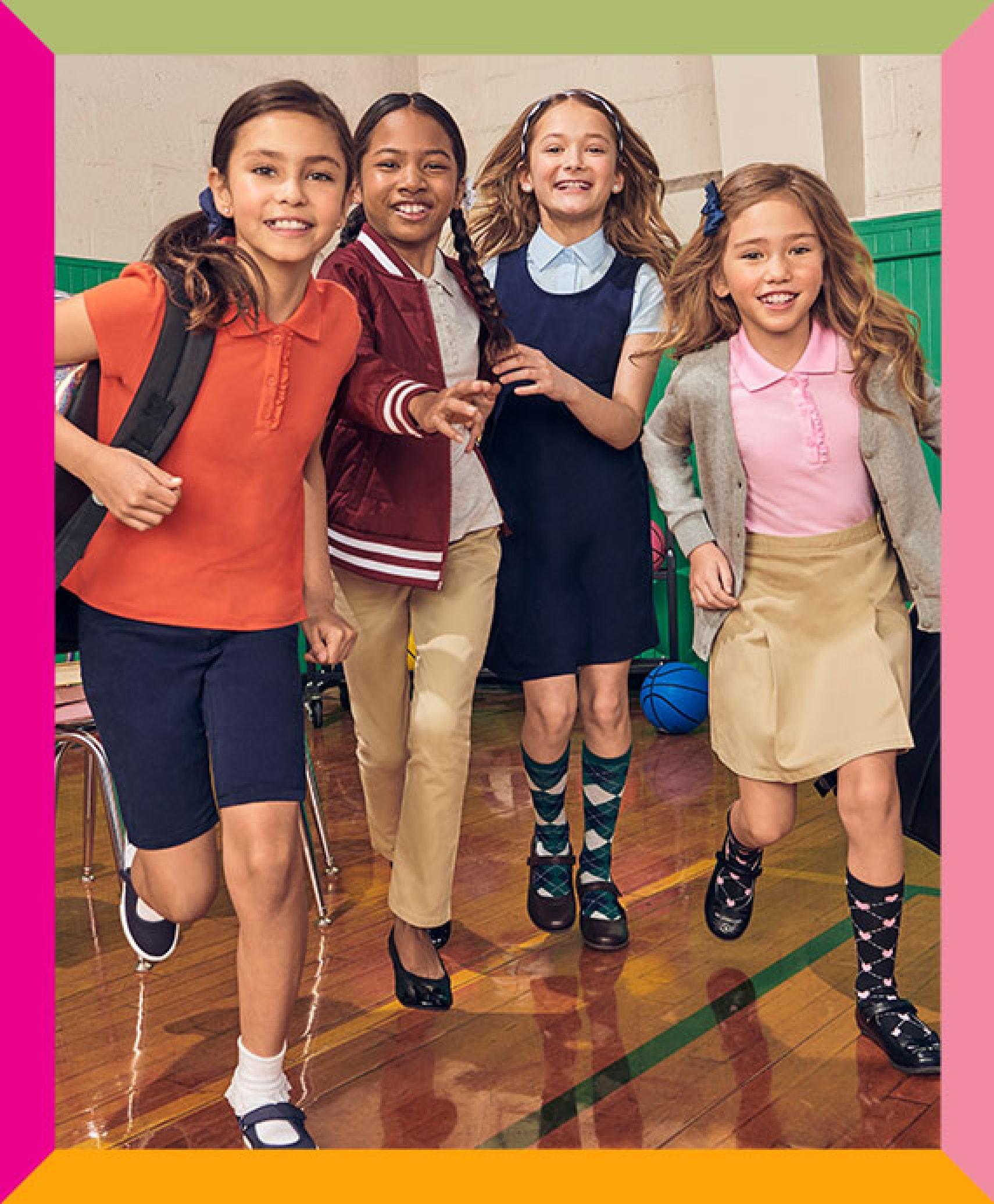 children's place uniform shoes