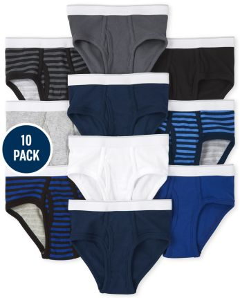 Boys Briefs 10-Pack