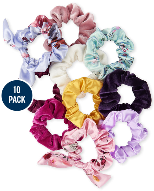 Girls Scrunchie 10-Pack