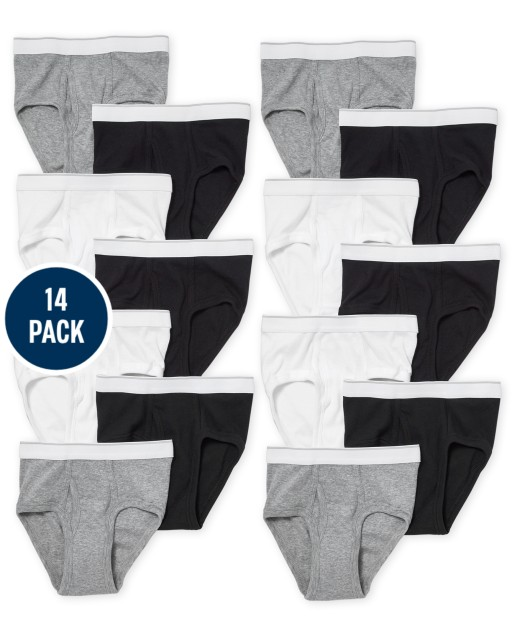 Boys Briefs 14-Pack