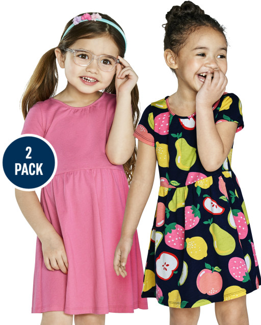 fits  2-3 years old Girls skater dress
