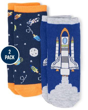 Unisex Midi Socks 2-Pack - Future Astronaut