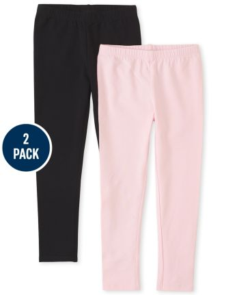 Pack de 2 leggings para niñas