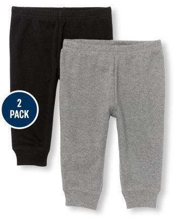 Baby Boys Pants 2-Pack
