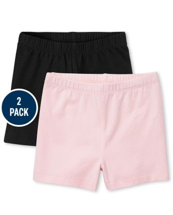 Pack de 2 pantalones cortos Cartwheel para niñas pequeñas