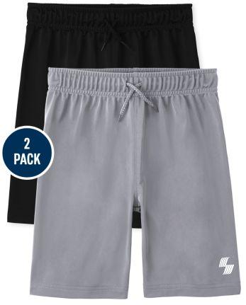 Boys Basketball Shorts 2-Pack