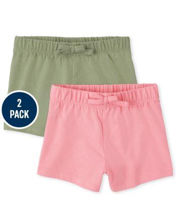 Toddler Girls Shorts 2-Pack
