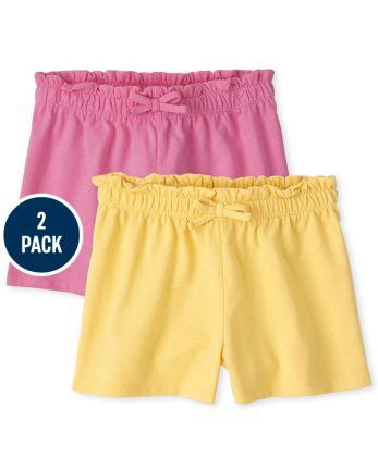 Toddler Girls Swing Shorts 2-Pack
