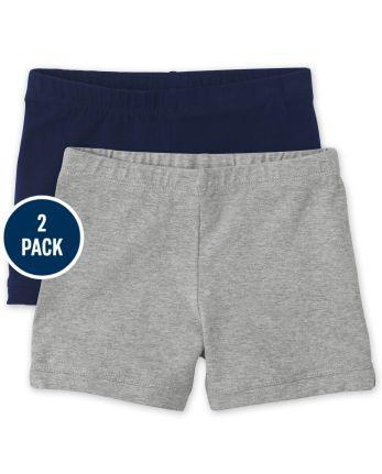 Girls Cartwheel Shorts 2-Pack