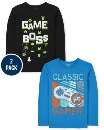 Boys Gamer Graphic Tee 2-Pack