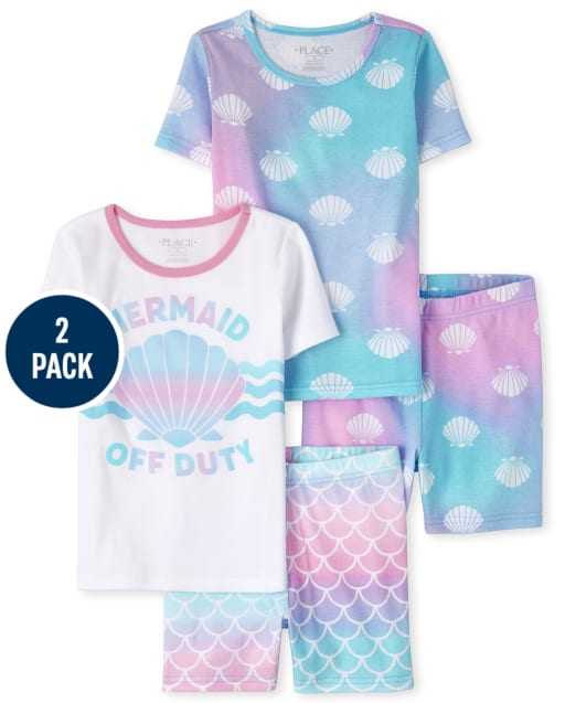 The Childrens Place Girls Two Piece Pajama Set