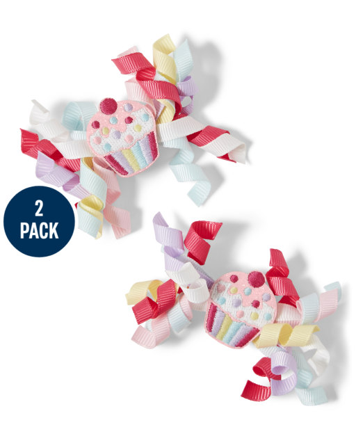 Girls Curly Hair Clips - Birthday Boutique