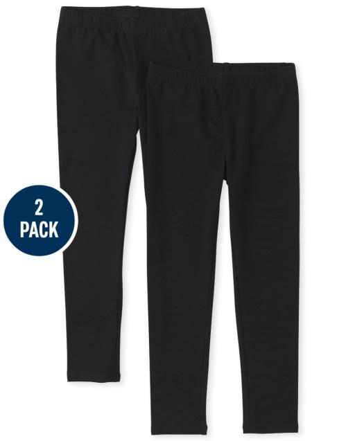 Girls Leggings 2-Pack