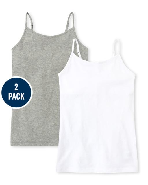 Girls Basic Cami 2-Pack