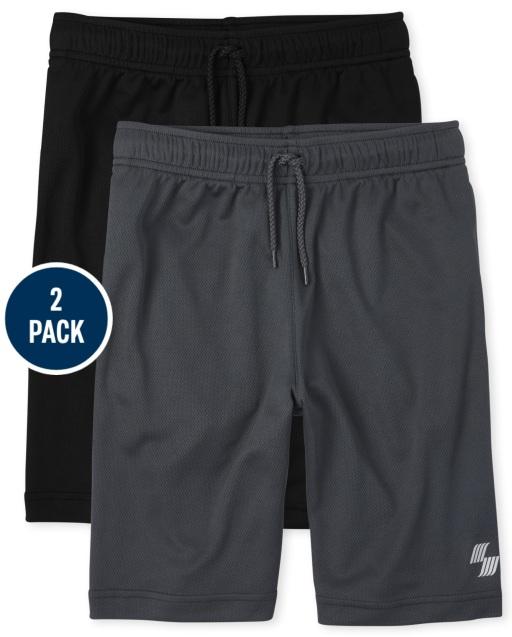 Boys PLACE Sport Mesh Knit Performance Basketball Shorts 2-Pack