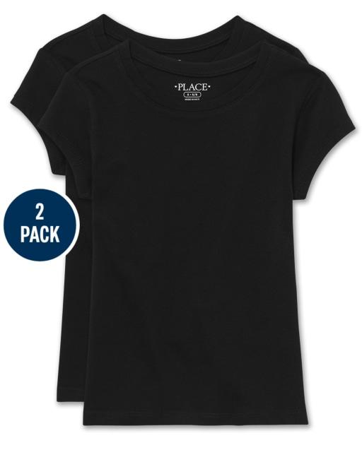 Girls Short Sleeve Tee 2-Pack
