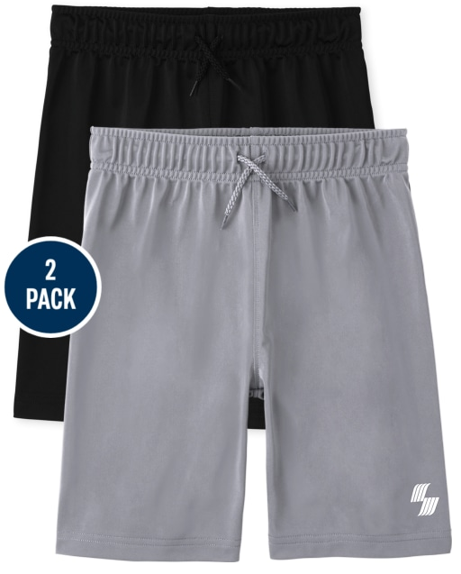 Boys PLACE Sport Knit Basketball Shorts 2-Pack