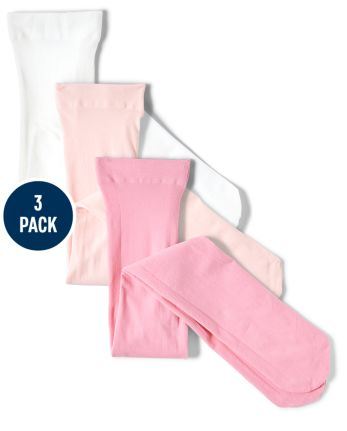 Girls Tights 3-Pack - Garden Party