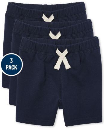 Toddler Boys Shorts 3-Pack