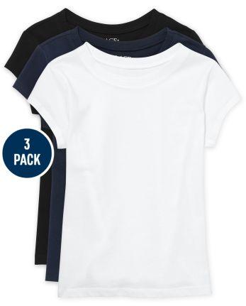 Girls Basic Layering Tee 3-Pack