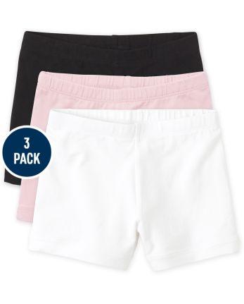 Girls Cartwheel Shorts 3-Pack