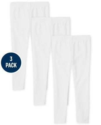 Girls Leggings 3-Pack