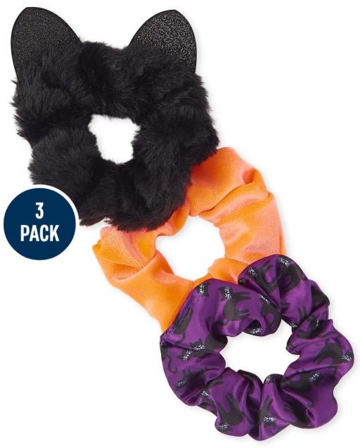 Girls Halloween Scrunchie 3-Pack