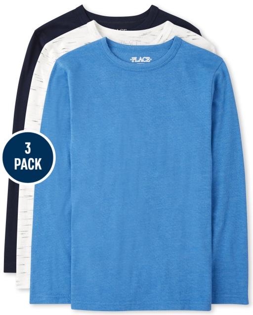 Boys Long Sleeve Top 3-Pack