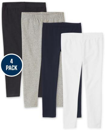 Girls Leggings 4-Pack