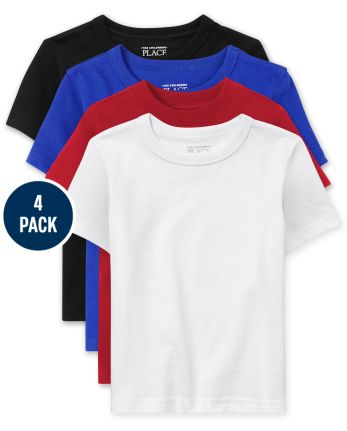 Baby And Toddler Boys Basic Layering Tee 4-Pack