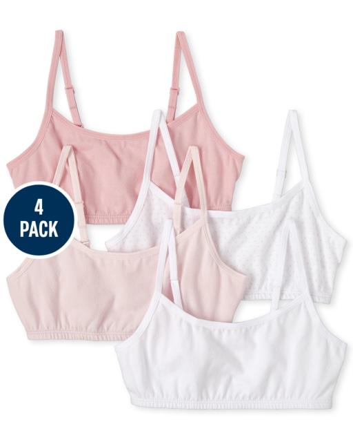 Girls Bralette 4-Pack