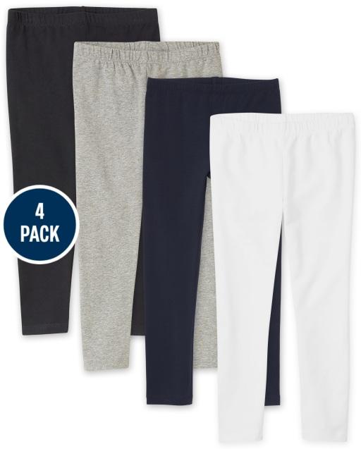 Girls Knit Leggings 4-Pack