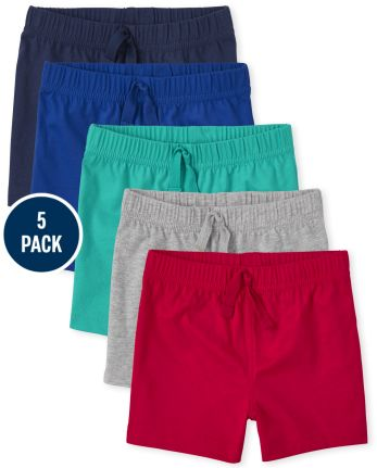5-Pack The Children's Place Baby Boys Shorts