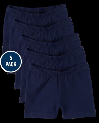 Girls Cartwheel Shorts 5-Pack