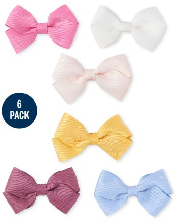 The Children's Place 6-Pack Girls Bow Hair Clip