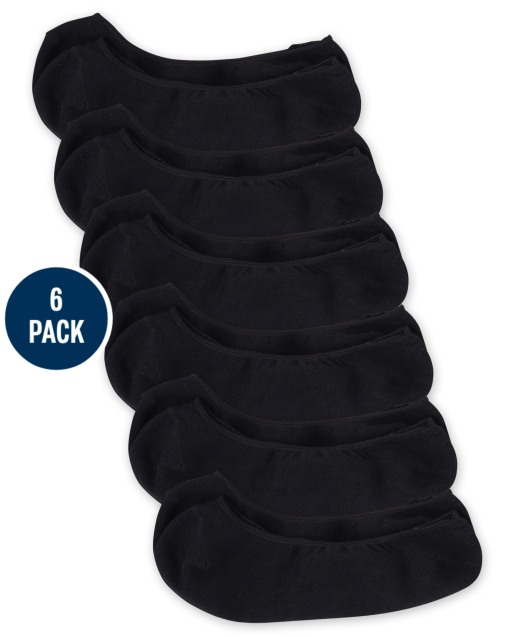 Paquete de 6 calcetines invisibles para niñas