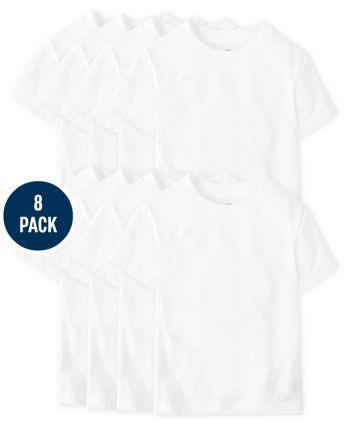 Boys Undershirt 8-Pack