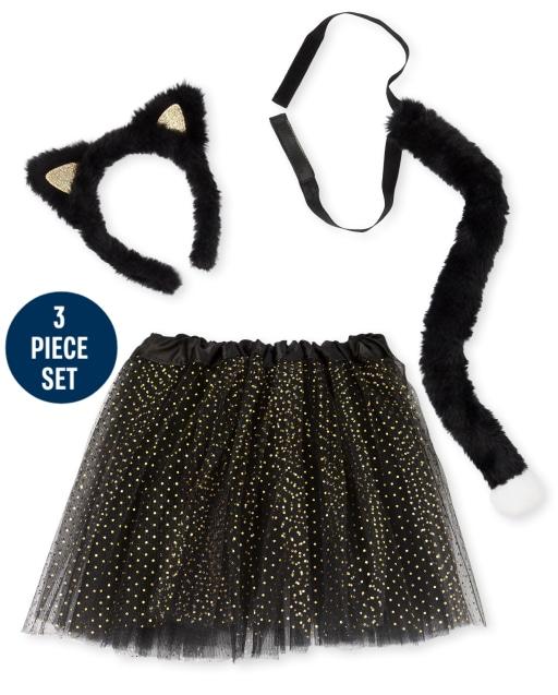 Girls Cat Costume Set