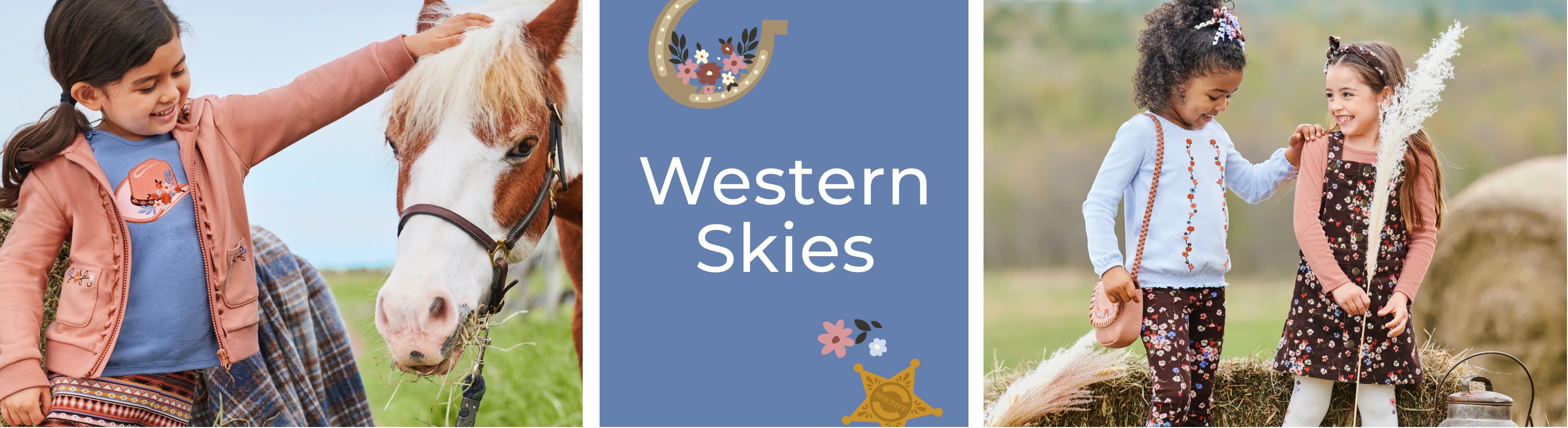 Chica cielos occidentales