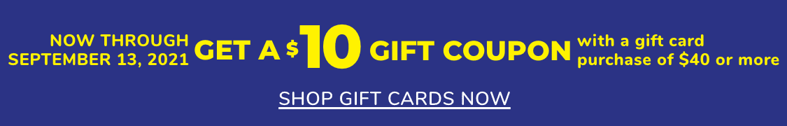 banner de tarjeta de regalo