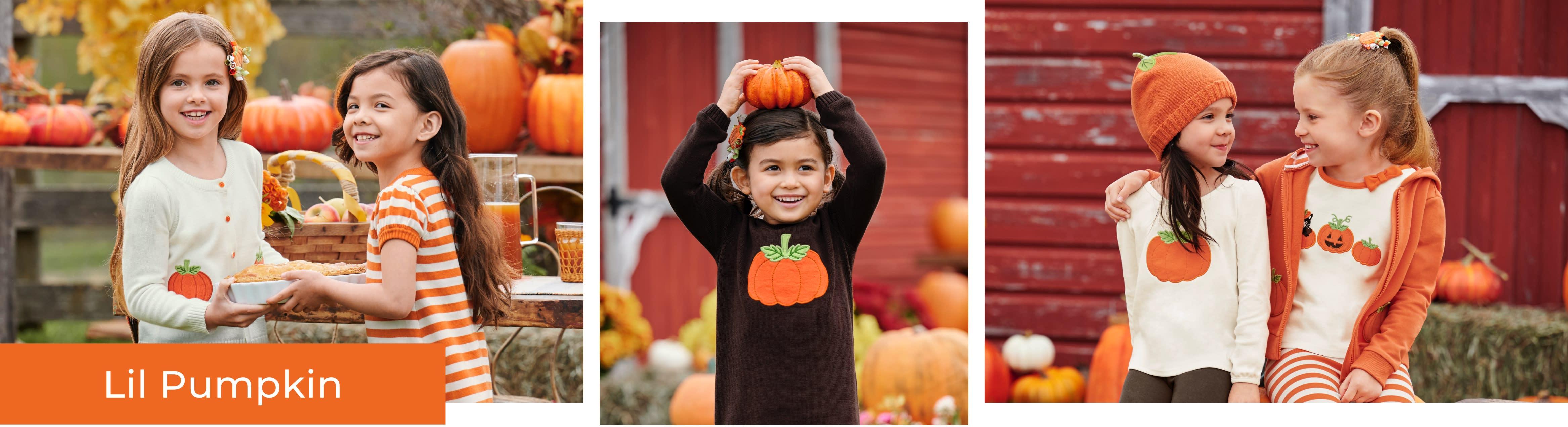 Girl Lil Pumpkin
