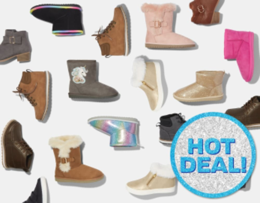 COZY BOOTS $19.99 & UP
