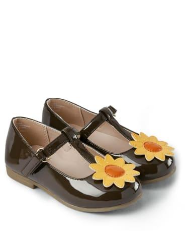 Girls Sunflower Ballet Flats - Harvest