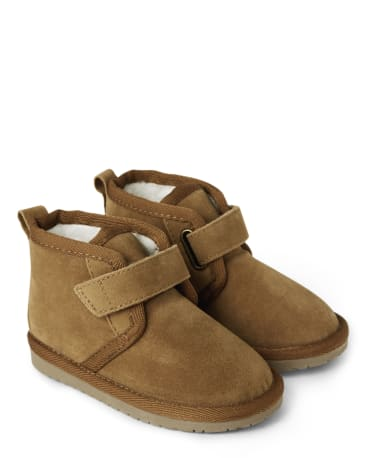 Boys Suede Boots
