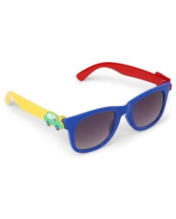 Boys Transportation Sunglasses - Travel Adventure