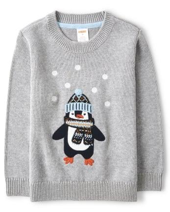 Nwt gymboree winter penguin Ruffle Hem Sweaters 18-24m 2T 4T 5T  You Choose